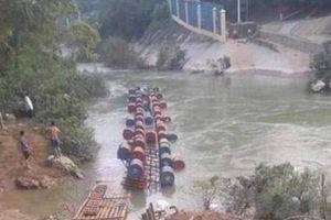 Xác định danh tính 3 nạn nhân mất tích trong vụ lật bè ở Cao Bằng