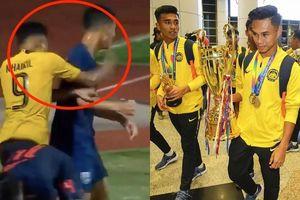 Đội trưởng U.15 Malaysia tiết lộ lý do đấm tuyển thủ Thái Lan