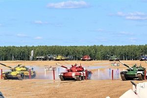 Xem trực tiếp trận bán kết Tank Biathlon 2019 giữa Nga-Belarus-Mong Cổ-Venezuela