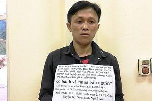Bắt 1 đối tượng lừa bán 3 người phụ nữ qua biên giới ở Nghệ An