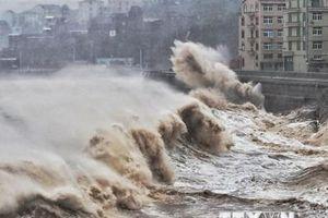 Siêu bão Lekima đổ bộ lần thứ 2 vào vùng duyên hải Trung Quốc