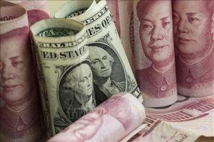 Giá USD và đồng Nhân dân tệ đồng loạt giảm