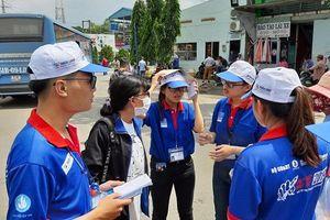 12.000 tình nguyện viên hỗ trợ tân sinh viên về TP Hồ Chí Minh nhập học