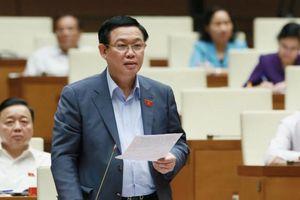 Phó Thủ tướng Vương Đình Huệ và 15 Bộ trưởng, trưởng ngành trả lời chất vấn đại biểu Quốc hội
