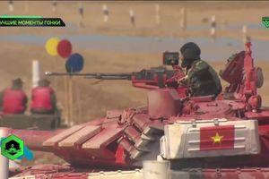 Đua xe tăng tại Nga, đội Việt Nam rộng cửa vào chung kết
