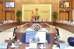 Sẽ tổ chức chất vấn tại Phiên họp thứ 36 của Ủy ban Thường vụ Quốc hội
