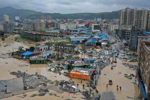 Bão Lekima tàn phá nhiều tỉnh thành Trung Quốc, 45 người thiệt mạng