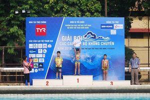 350 VĐV tranh tài tại Giải Bơi các CLB không chuyên 2019