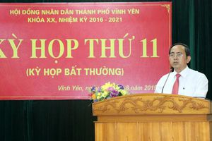 Vĩnh Yên có tân chủ tịch UBND thành phố