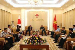 Quan hệ quốc phòng Việt - Nhật là trụ cột quan trọng
