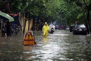 Giảm thiểu úng ngập mùa mưa: Tăng cường tuyên truyền thay đổi nhận thức của người dân