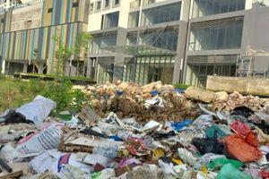 Hà Nội: Rác thải, ô nhiễm môi trường bủa vây khu đô thị Ngoại Giao Đoàn