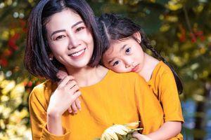Mai Phương rạng rỡ bên con gái con gái sau 1 năm chiến đấu bệnh ung thư phổi