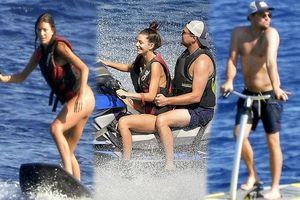 'Ông chú bụng bia' Leonardo DiCaprio nữ tính, bạn gái 9x lướt ván điệu nghệ