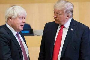 Tổng thống Mỹ Trump cảm ơn Anh vì 'quan hệ đối tác kiên định'