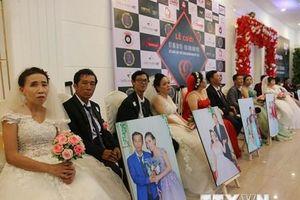 TP.HCM: Lễ cưới tập thể 41 cặp đôi khuyết tật, có hoàn cảnh khó khăn