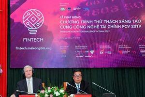 Khởi động thử thách sáng tạo cùng công nghệ tài chính 2019