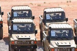 Iran công bố mẫu xe quân sự bọc thép nội địa mới Aras-2