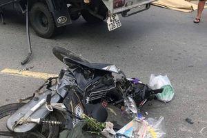 Đi bán nhang cúng rằm tháng 7, người phụ nữ bị xe tải tông tử vong