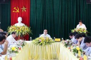 Bí thư Thành ủy Hoàng Trung Hải làm việc với Liên minh Hợp tác xã thành phố Hà Nội