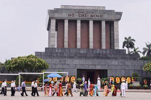 Thủ tướng kiểm tra công trình, khu vực Lăng Chủ tịch Hồ Chí Minh