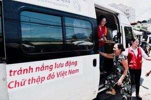 Những điểm trú nắng nóng cho người lao động nghèo ở Hà Nội