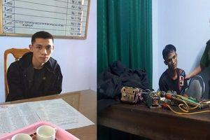 Nửa đêm mang súng điện đi trộm chó, 2 thanh niên bị bắt giữ