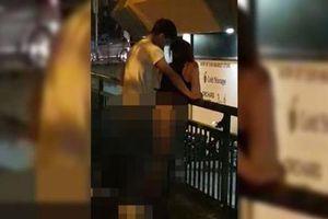 Nóng mắt cặp đôi vô tư diễn cảnh nóng nơi công cộng như trong phòng ngủ