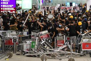 Tổng thống Mỹ phát biểu về biểu tình ở Hong Kong