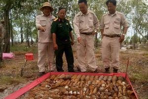 Quảng Trị: Phát hiện 1.021 lựu đạn, rocket giữa rừng tràm xen lẫn khu dân cư