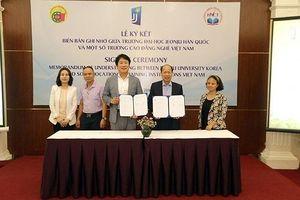 Hợp tác Hàn Quốc nâng cao chất lượng đào tạo nghề