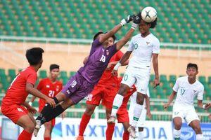 Indonesia và Myanmar chính thức giành vé vào bán kết Giải U.18 vô địch ĐNA