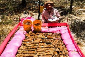 Quảng Trị: Di dời hàng ngàn quả đạn pháo nằm trong 2 hầm đạn gần khu dân cư