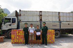 Sau 3 giờ trinh sát, Biên phòng Cao Bằng 'tóm gọn' vụ vận chuyển 2,7 tấn pháo nổ