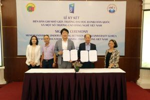 Việt Nam- Hàn Quốc hợp tác đào tạo nghề nghiệp