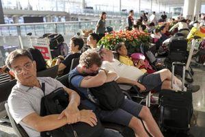 Sân bay Hong Kong hoạt động trở lại sau biểu tình