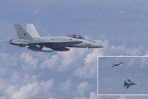 Su-27 xua đuổi F-18 của NATO 'bám đuôi' Bộ trưởng Quốc phòng Nga