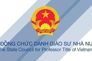 Bộ Giáo dục thanh tra quy trình xét chức danh Giáo sư, Phó Giáo sư