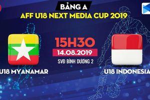 Kết quả trận U18 Myanmar vs U18 Indonesia bảng A U18 Đông Nam Á