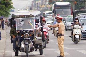 Xử lý phương tiện vi phạm luật giao thông tại quận Ba Đình: Giao trách nhiệm cho từng lực lượng