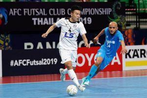 Đại thắng 5-1, Thái Sơn Nam thẳng tiến vào bán kết Giải futsal CLB châu Á