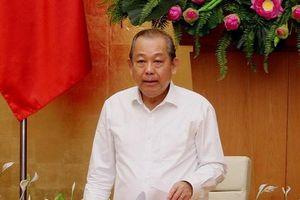 Phó Thủ tướng nêu vụ sàm sỡ trên máy bay trong cuộc họp về an ninh hàng không