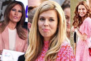 Bạn gái Thủ tướng Anh có 'sao chép' phong cách thời trang Kate Middleton hay Melania Trump?