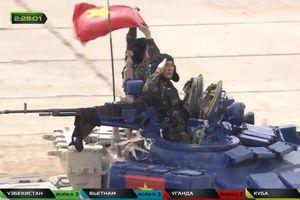 Đội tuyển Việt Nam xếp thứ nhì chung kết thi đấu xe tăng