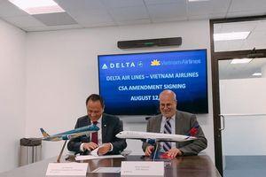 Vietnam Airlines mở rộng hợp tác với Hãng hàng không lớn thứ 2 của Mỹ