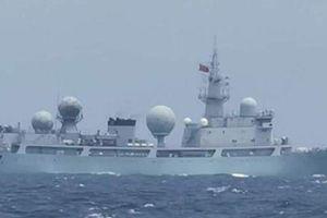 Philippines nói 5 tàu chiến Trung Quốc đi vào lãnh hải mà không thông báo