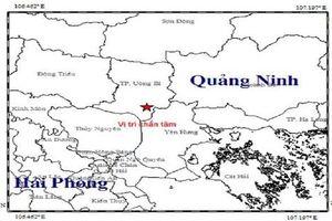 Xảy ra động đất 3,2 độ richter tại Quảng Ninh