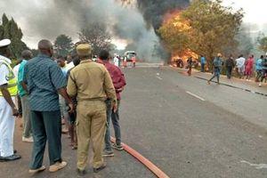 Xe bồn chở nhiên liệu phát nổ ở Tanzania: Đã có 85 người thiệt mạng
