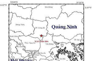Quảng Ninh: Chưa có thông tin về thiệt hại sau trận động đất tại Uông Bí