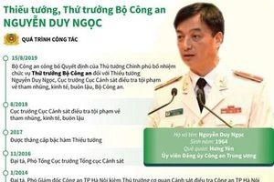Quá trình công tác của Thứ trưởng Bộ Công an Nguyễn Duy Ngọc